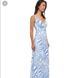 Lilly Pulitzer Sloane Maxi Dress in Yacht Sea